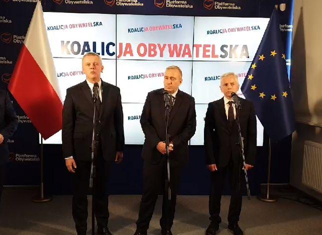 Lider Koalicji Obywatelskiej Grzegorz Schetyna zapowiedział zniesienie tzw. ustawy dezubekizacyjnej