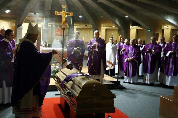 Drugi pogrzeb ks. infułata Zdzisława Króla