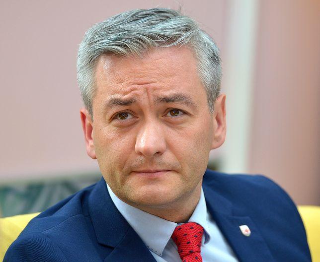 Robert Biedroń twierdzi, że przyjaźni się z Barbarą Nowacką