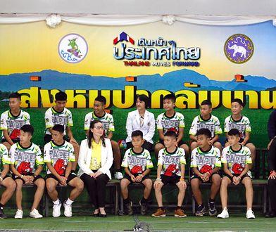 Chłopcy uratowani z jaskini Tham Luang byli gośćmi hitowego talk-show Ellen DeGeneres