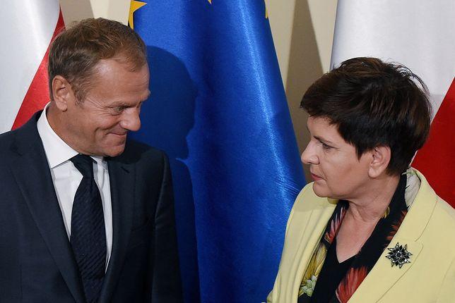Donald Tusk i Beata Szydło znaleźli się na podium najlepiej ocenianych premierów II RP