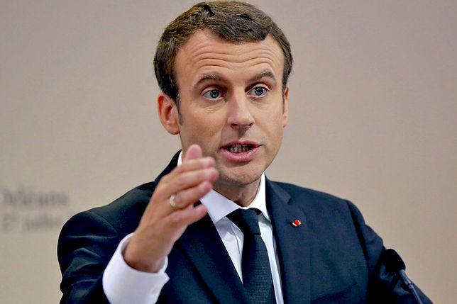 """Emmanuel Macron przyjedzie do Polski. """"Jest obustronnie odczuwalna potrzeba poprawy dialogu"""""""