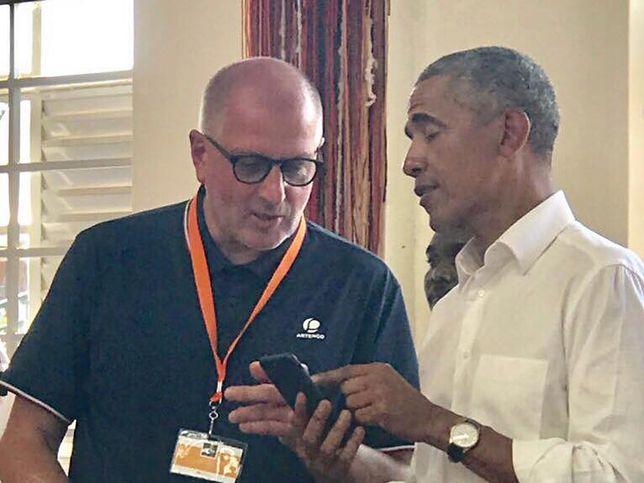 Barack Obama i Rafał Dutkiewicz rozmawiali też o polityce