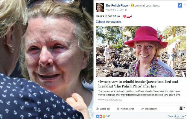 Australijski lokal promujący polską kulturę zostanie odbudowany dzięki wielkiemu wsparciu mieszkańców