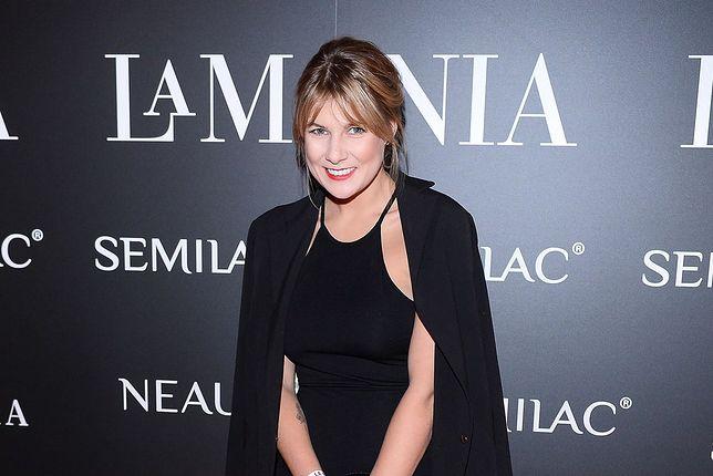 Marta Wierzbicka. Uśmiechnięta aktorka nad Bałtykiem