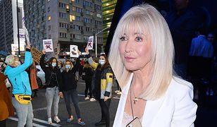 """Anna Maria Wesołowska o wulgaryzmach na protestach. """"Nie pochwalam, ale rozumiem"""""""