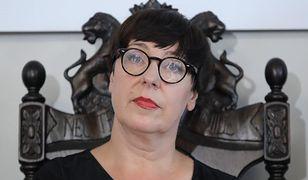Elżbieta Jachlewska, polityczka, działaczka społeczna, feministka i jedna z liderek partii Inicjatywa Feministyczna
