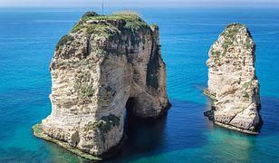 Raouche Rocks w Libanie / zdjęcie ilustracyjne