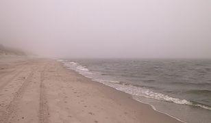 Trąba wodna na Bałtyku. Podziwiać ją można było w Ustce