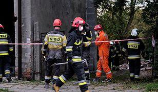 Mazowsze. W niedzielę rano spłonęła hala magazynowa w pobliżu Grójca (zdj. ilustr.)