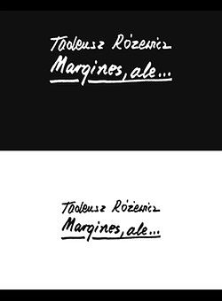 """""""Margines, ale..."""" - nowa książka Różewicza"""
