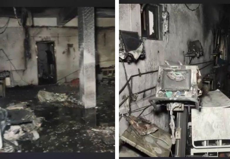 Indie. Pożar w szpitalu covidowym. Nie żyje 18 osób