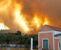 Popularna grecka wyspa walczy z pożarami. Turyści bez prądu i wody