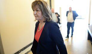 Głosowała na dwie ręce. Przez pięć miesięcy rozpatrują wniosek o uchylenie jej immunitetu