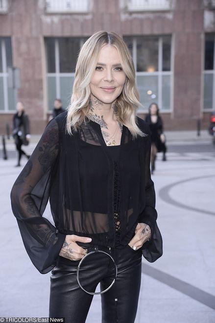 Maja Sablewska ma charakterystyczny, nieco rockowy styl