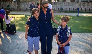 Małgorzata Rozenek jest dumna z dzieci