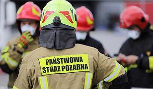 Warszawa. Na Bielanach doszło do tragicznego pożaru domu jednorodzinnego