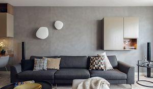 Minimalistyczne wnętrza domu w stylu skandynawskim. Naturalne wyciszenie