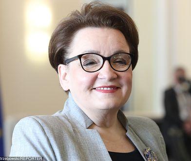 Minister edukacji Anna Zalewska.