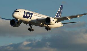Polski dreamliner wylądował na Islandii