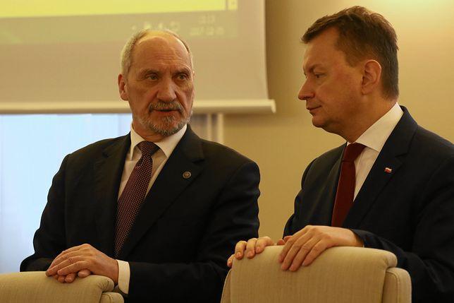 Farsa. Błaszczak przeniósł swoją siedzibę przez Macierewicza. Gabinet ministra stoi pusty.