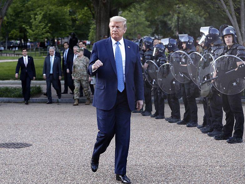 """USA. Donald Trump grozi protestującym. """"Wyślę wojsko na ulice"""""""