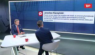 Leszek Balcerowicz o zapowiedzi Kaczyńskiego: to przypomina język Putina