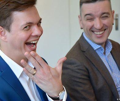 Rosja. Andrej i Jewgienij. Zdjęcie ze ślubu w Danii