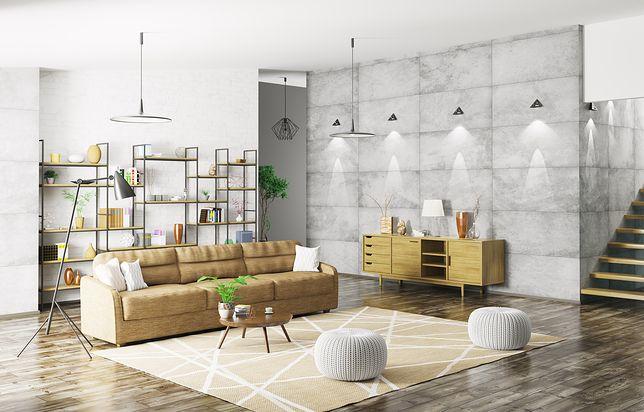 Betonowe płyty dekoracyjne na ścianę to nieodłączny element stylu industrialnego w aranżacji wnętrz
