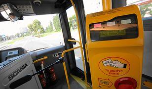 Incydent wydarzył się w autobusie warszawskiej linii nr 158.
