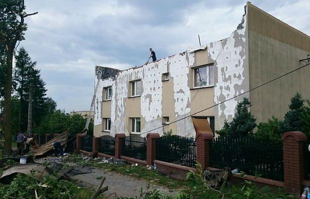 Zniszczenia po ostatniej nawałnicy na Śląsku