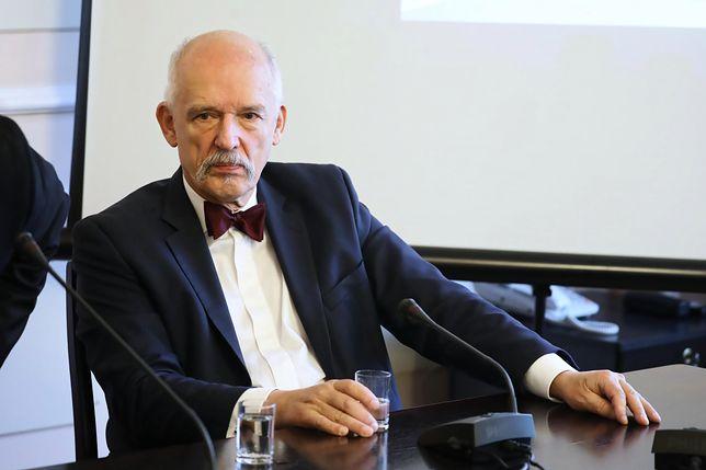 Janusz Korwin-Mikke wydaje się zanadto nie przejmować zmianami