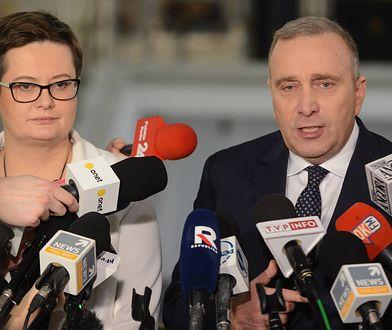 Do liderów Koalicji Europejskiej należą Grzegorz Schetyna i Katarzyna Lubnauer