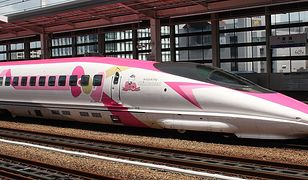Hello Kitty. Japońska gwiazda kreskówek zdobi pociągi