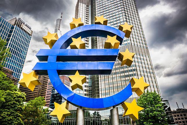 Europejska gospodarka przyspiesza. EBC umacnia euro