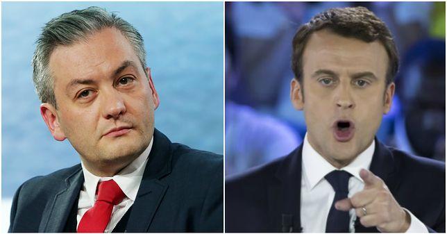 Biedroń jak prezydent Francji? Prezydent Słupska dostrzega podobieństwo