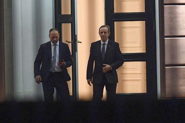 Tomasz Grodzki po spotkaniu z prezydentem Andrzejem Dudą