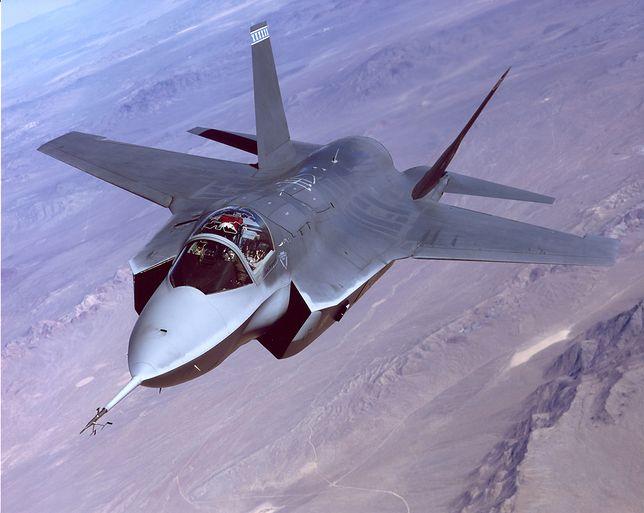 F-35 to nowoczesny myśliwiec produkcji amerykańskiej