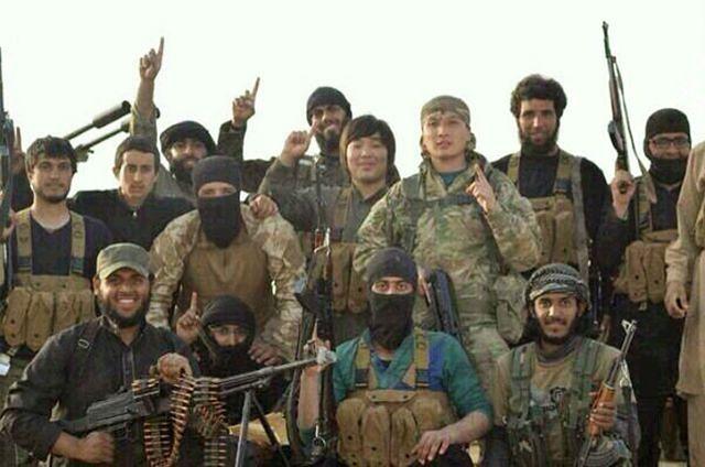 Chińczycy wśród bojowników w Syrii