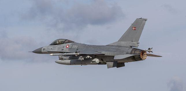 F-16 należący do Danii