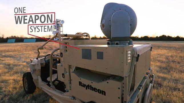 Wojsko USA otrzymało laserową broń antydronową [WIDEO]