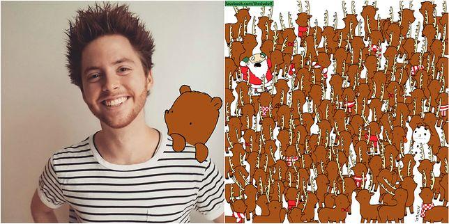 Dudolf wydał niedawno świąteczną serię rysowanych łamigłówek, które bawią zarówno dzieci jak i dorosłych.