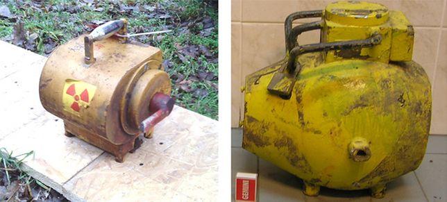 Kradzież promieniotwórczych pojemników. Policja zatrzymała trzy osoby