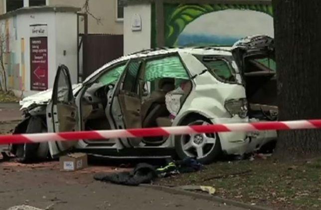Śmiertelny wypadek przy ulicy Myśliwieckiej. Kierowca był pijany