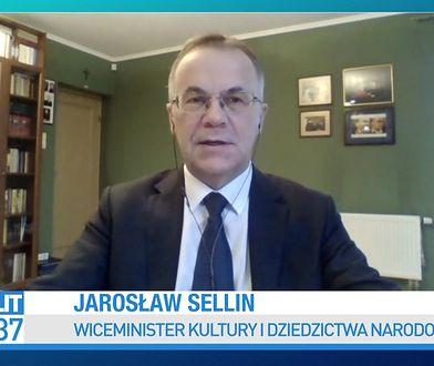 Pieniądze dla artystów. Jarosław Sellin komentuje projekt KO