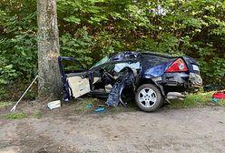 Tragiczny wypadek na Pomorzu. Kierowca nie odebrał jeszcze prawa jazdy