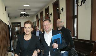Kamil Durczok z żoną w sądzie. Co ich tak rozbawiło?