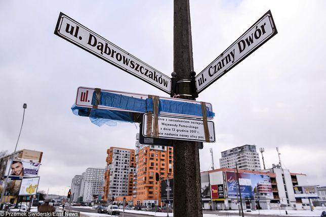 Gdańsk wygrał w sądzie z wojewodą. Zarządzenia o zmianie nazw ulic uchylone