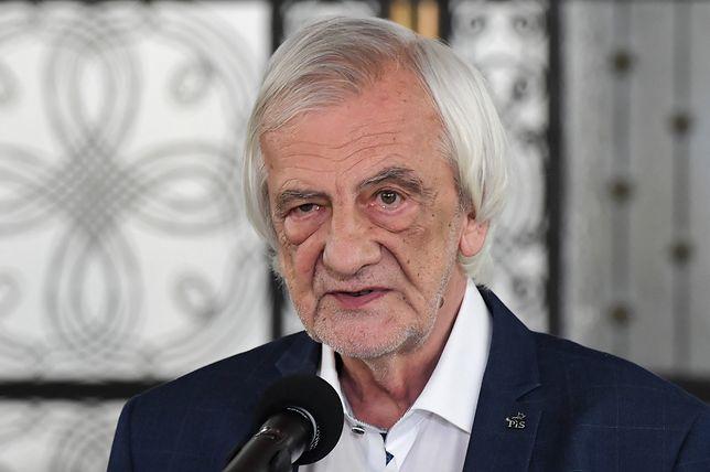 """Białoruś. Ryszard Terlecki do dziennikarki: """"Ale co Pani myśli, że najedziemy na Białoruś albo wyślemy tam czołgi?"""""""