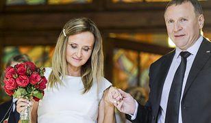 Kurski z żoną i córką już w domu. Wyjaśnił znaczenie imion dziecka